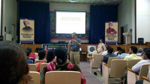 Teacher Training Workshop at Hyderabad