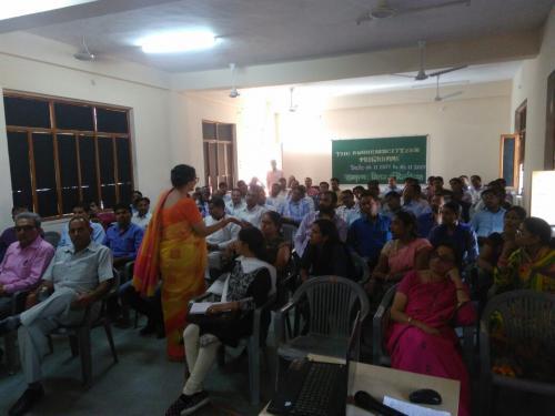 Vivekanada Model School Training  Nagaur 2017-11-04